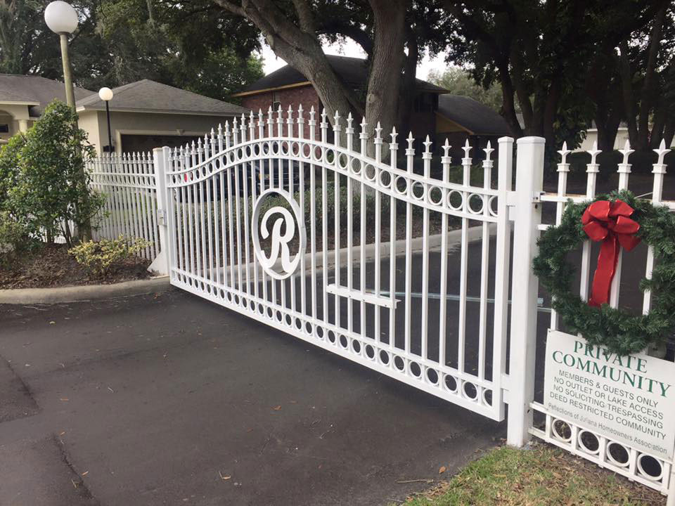 white-steel-gate-repaired-tampa2